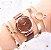 Relógio Feminino Trevo + Pulseiras - Imagem 6