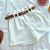 Shorts Feminino Kemsey + Cinto - Imagem 3