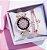 Relógio Feminino Star + Pulseira - Imagem 1