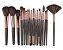 Kit com 18 Pinceis para Maquiagem Maange - Imagem 2