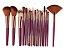 Kit com 18 Pinceis para Maquiagem Maange - Imagem 4