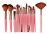 Kit com 18 Pinceis para Maquiagem Maange - Imagem 1