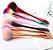 Pincel de Blush Multicolor Elecool - Imagem 2