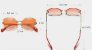 Óculos de Sol Feminino Pepita - Imagem 8