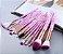 Kit com 15 Pinceis para Maquiagem FLP - Imagem 1