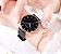 Relógio Feminino de aço Estrelado - Imagem 2