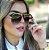 Óculos de Sol Feminino Aviador Glamour - Imagem 2