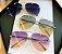 Óculos de Sol Feminino Aviador Luxo - Imagem 8