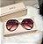 Óculos de Sol Feminino Strass - Imagem 1