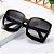 Óculos de Sol Feminino Quadrado Gradiente - Imagem 1