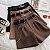 Shorts Feminino Com Corrente + Cinto - Imagem 1