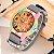 Relógio Feminino Madeira Listrada - Imagem 1