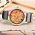 Relógio Feminino Madeira Listrada - Imagem 4