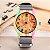 Relógio Feminino Madeira Listrada - Imagem 5