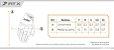 Luva X11 Fit X, Preta, Tecido Arejado, Poliéster e Neoprene, Touch Screen nos Indicadores - Imagem 4