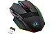 Mouse Gamer Redragon Sniper Pro M801P RGB, 16000 DPI, Wireless, 9 Botões Programáveis, Black - Imagem 2