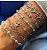 Pulseira de Prata 925 Olho Grego Azul Claro - Imagem 2