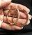 Brinco Argola Pavê  Luxo - Ouro - Imagem 3