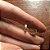 Mini Argolinhas Skinny - Ouro - Imagem 2