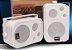 Amplificador de Parede AMCP c/ FM, BT e APP KPBT-XT + Par de Caixa SP400 branca - Imagem 3