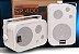 Tela de Projeção Retrátil TES 100¨+ Suporte Projetor+Cabo HDMI+Kit Som SP400 - Imagem 4