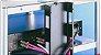 Canaleta de cabeamento Airon  V-90 em aço cor Black - Imagem 1