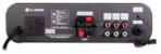 Amplificador NCA SA100BT Bluetooh + 4 Caixas Gesso  JBL 6CO1Q - Imagem 4