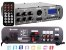 Amplificador NCA SA100BT ST Bluetooh + 4 Caixas Gesso  JBL 6CO1Q - Imagem 2
