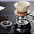 CAFETEIRA EM VIDRO PASSADOR DE CAFÉ 700ml COM COADOR VIDRO E MADEIRA  - Imagem 3