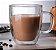XÍCARA COPO DE CAFÉ PAREDE DUPLA 450ml CONJUNTO COM 2 UNIDADES - Imagem 1