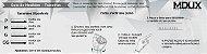 Pulseira Masculina de Pedra Preta Agata 254 Martin Luther King | M-DUX - Imagem 4