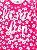 Pijama Brandili Let me Sleep Malha Longo Infantil Feminino Pink - Imagem 3