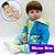 Bebê Reborn Jefferson 48cm Todo em Silicone - Imagem 1