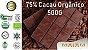 Chocolate Orgânico 75% Cacau 500G - Amma Chocolate - Imagem 1