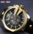 DOOBO Relógio Ouro Homens Top Marca de Luxo Popular Gold - Imagem 2
