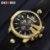 DOOBO Relógio Ouro Homens Top Marca de Luxo Popular Gold - Imagem 4