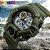 SKMEI Relógios Esportivo Homens Militares Choque Digital de Alarme 50 M Relógio À Prova D' Água  - Imagem 1