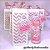 Lembrancinhas Maternidade - Mini álcool gel 30 ml classic na sacolinha scrap - Imagem 4