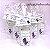 Lembrancinha Maternidade - Mini álcool gel 40 ml basic com tag - Imagem 2