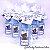 Lembrancinha Maternidade - Mini álcool gel 40 ml basic com tag - Imagem 3