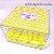 Kit Maternidade 7 - Sachê pezinho perfumado na Caixa Personalizada - Imagem 3