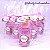 Lembrancinhas Maternidade - Mini álcool gel 30 ml basic com tag - Imagem 4