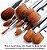 Kit 32 Pinceis Profissionais MSQ com Cinto de couro porta pinceis - Imagem 4