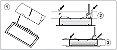 Luminária Led 34W de Embutir Retangular 15x112cm Completa - Luz Branca Fria, Neutra e Quente - Imagem 4