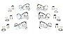 Tarraxa c/ Trava Grover Rotomatic 3x3 Chrome 18:1 -Orig 106C - Imagem 6