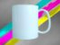 Caneca Branca Polímero 325ml Premium  - Imagem 1