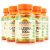 Kit 5 L-Lisina 500mg Sundown Naturals 100 comprimidos - Imagem 1