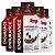 Kit 5 Endurance Caffeine Gel Vitafor Caixa 12 sachês Mocha - Imagem 1