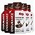 Kit 5 Endurance Caffeine Gel Vitafor Caixa 12 sachês Chocolate Belga - Imagem 1