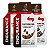Kit 3 Endurance Caffeine Gel Vitafor Caixa 12 sachês Limão + Mocha + Chocolate Belga - Imagem 1
